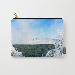 Ice in Niagara Carry-All Pouch
