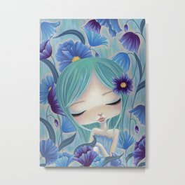 My Blue Heaven Metal Print