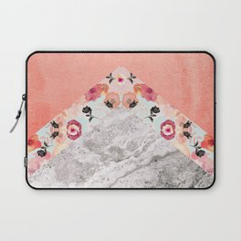 MIX IT BABY - CORAL MARBLE Laptop Sleeve