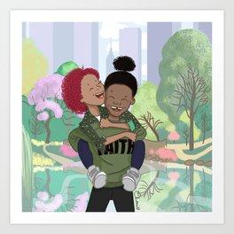 Jay and mia's Art Print
