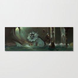 Vaporeon Canvas Print