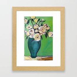 Van Gogh's Flowers Framed Art Print