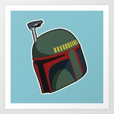 Fett Bucket Art Print