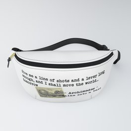 Archimedes Walks Into A Bar #2 Fanny Pack