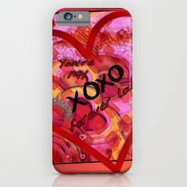 Forever Love This Year iPhone Case