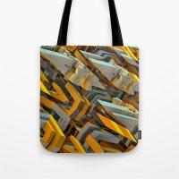 transformer Tote Bags featuring Transformer Fish by Kunstbehang / Edwin van Munster