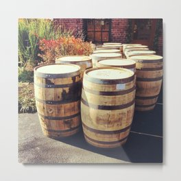 Distillery Goods Metal Print