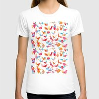 takmaj T-shirts featuring Birds by takmaj