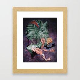 Agony Framed Art Print