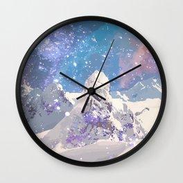Magic Winter Wall Clock
