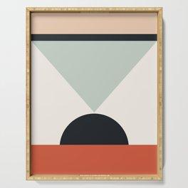 Gemetric art print, Geometric print, Minimalist art, Minimalism, Circles art, Circles print, Modern Serving Tray