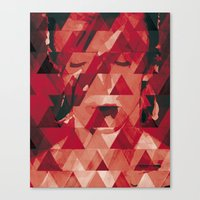 bowie Canvas Prints featuring Bowie by Aive Trujillo Photography