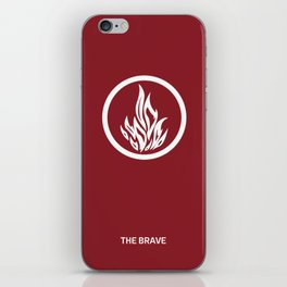 Divergent (dauntless) iPhone Skin