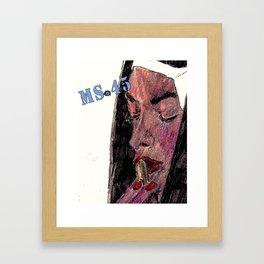 Ms. 45 Framed Art Print