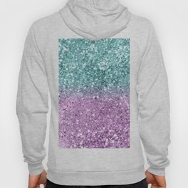 Mermaid Girls Glitter #6 #shiny #decor #art #society6 Hoody