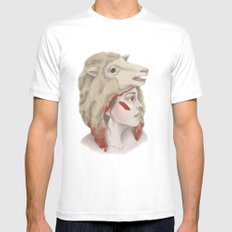 We Are Sheep MEDIUM Mens Fitted Tee White