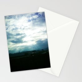 The Light of the God  Stationery Cards