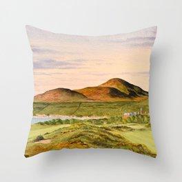 Royal County Down Golf Course Throw Pillow