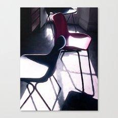 Art Studio Chairs Canvas Print