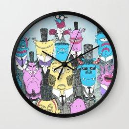 A Few Good Monsters Wall Clock