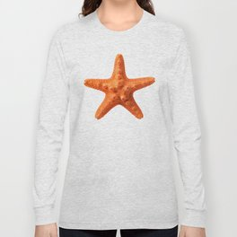Orange starfish Long Sleeve T-shirt