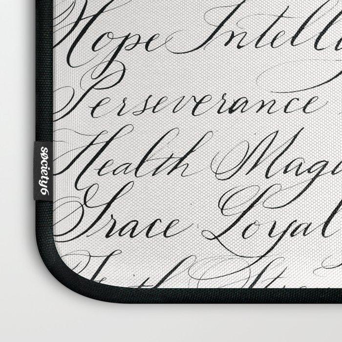 Inspirational Words II Laptop Sleeve