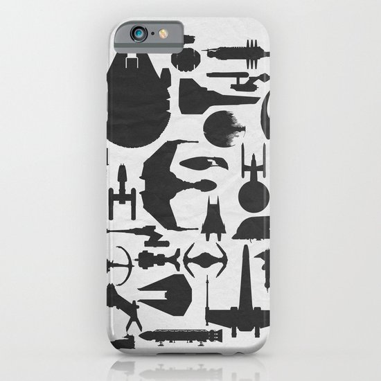 Famous Sci Fi Ships iPhone & iPod Case