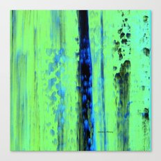 Gerhard Richter Inspired Urban Rain 2 - Modern Art Canvas Print