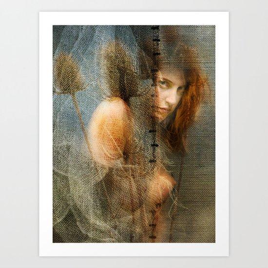 Shyness Art Print