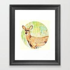 As A Deer Framed Art Print