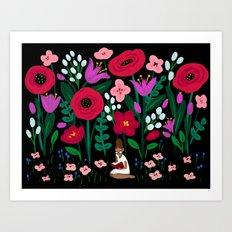 Little Reader Art Print