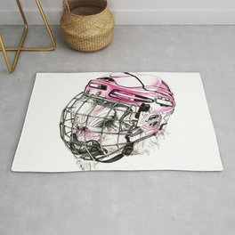 Hockey mandrill  Rug