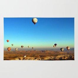 Hot Air Balloons (Color) Rug