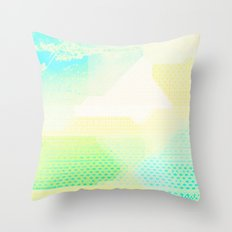 Missing Landscape Throw Pillow