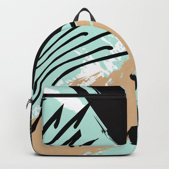Marine splash Backpack