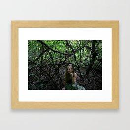 Entangled Thoughts Framed Art Print