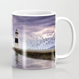 The Light on the Pier Coffee Mug