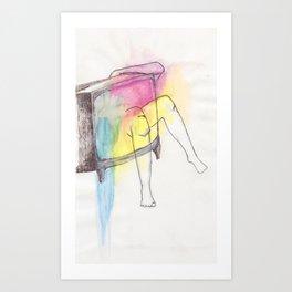 porn Art Print