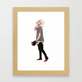 Justin Framed Art Print