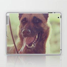 Malinios Beauty dog picture Laptop & iPad Skin