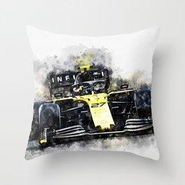 Nico Hulkenberg Throw Pillow