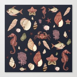 Sealife Mood Canvas Print