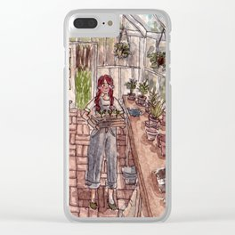 Glass Home Clear iPhone Case