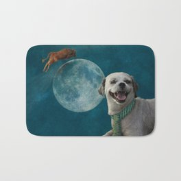 The little dog laughed Bath Mat