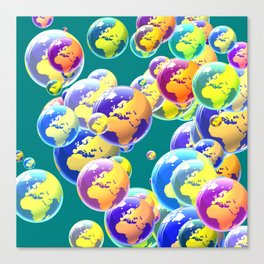 So many worlds Canvas Print