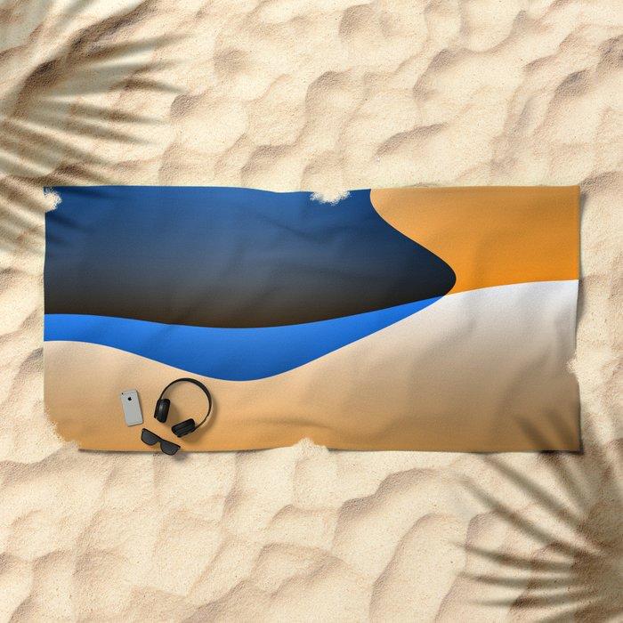 Abstract I #decor #society6 Beach Towel