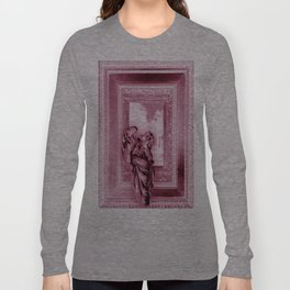 Angel of Bristol (Pink Inverted) Long Sleeve T-shirt