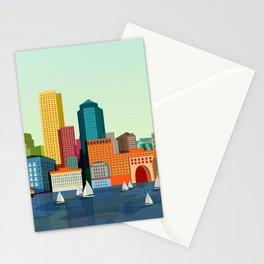 City Boston Stationery Cards