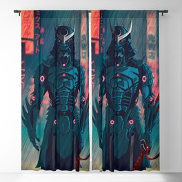 077 Samurai 2077 Blackout Curtain