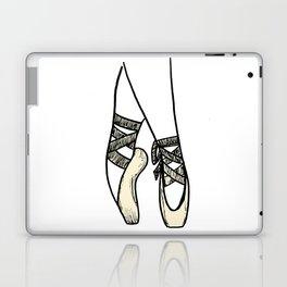 Ballet shoes detail Laptop & iPad Skin